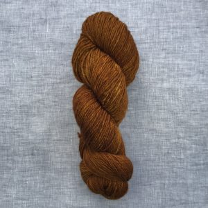 Qiviut Sock Yarn Fall Leaves