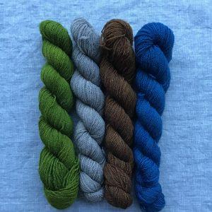 Qiviut Silk 50/50 Blend
