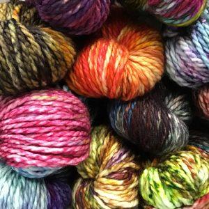 Alaskan Dyed Yarn - Superwash Chunky