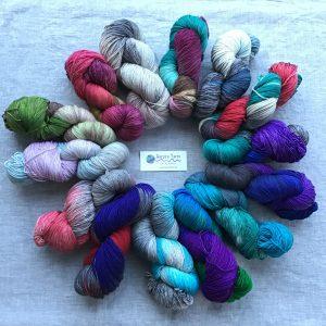 Alaskan Dyed Yarn - Bear Feet