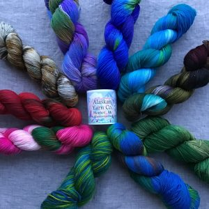 Alaskan Dyed Yarn - Fingering & Sock Yarns