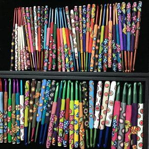 Clay Crochet Hooks